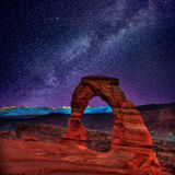 Arches National Park in Moab Utah USA Royalty Free Stock Photography