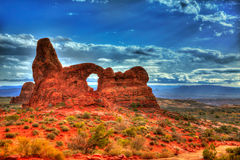 Arches National Park in Moab Utah USA Stock Photo
