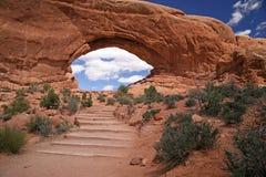 Arches National Park near Moab, Utah Stock Photos
