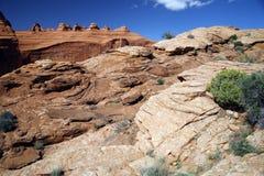 Arches National Park near Moab, Utah Royalty Free Stock Photography