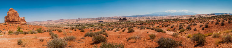 Arches National Park Pano Stock Photo