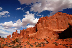 Arches National Park ,Park Ave Stock Photography