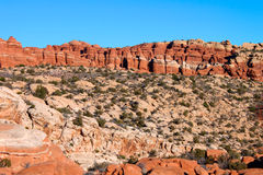 Arches National Park Scenery Royalty Free Stock Images