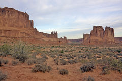 Arches National Park Scenic Royalty Free Stock Image