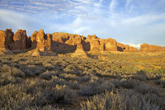 Arches National Park Scenic Landscape Stock Photo