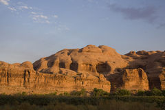 Arches National Park at sunset Royalty Free Stock Photos