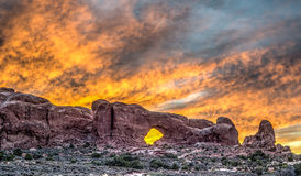 Arches National Park. Is a US National Park in eastern Utah Royalty Free Stock Image