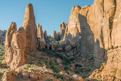 Arches National Park. Is a US National Park in eastern Utah Devils garden area Royalty Free Stock Images