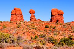 Arches National Park, USA Stock Photos