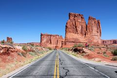 Arches National Park, USA Royalty Free Stock Photos