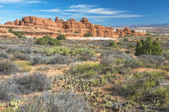 Arches National Park, USA Royalty Free Stock Image