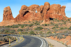Arches National Park, USA Royalty Free Stock Photo