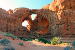 Arches national park, utah. Stock Images