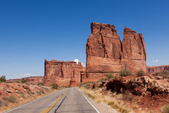 Arches national park in Utah Royalty Free Stock Images
