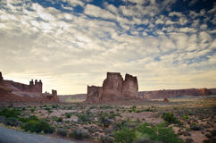 Arches National Park in Utah Stock Photography