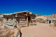 Wolfe Ranch at Arches stock image