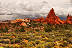 Arches National Park, Utah Royalty Free Stock Photography