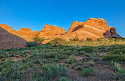 Arches National Park Utah Scenic Royalty Free Stock Photography