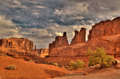 Arches National Park, Utah, USA. Rock formations in Arches National Park, Utah, USA Stock Photos