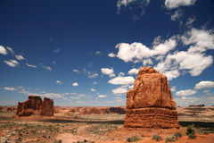Arches National Park in Utah, Royalty Free Stock Image