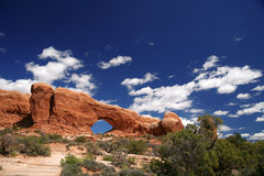 Arches National Park in Utah Stock Photo
