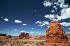 Arches National Park in Utah, USA Stock Photos