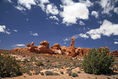 Arches National Park in Utah, USA Royalty Free Stock Photo