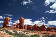 Arches National Park in Utah, USA Royalty Free Stock Images