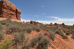 Arches National Park, Utah, USA. Beautiful Arches National Park, Utah, USA Stock Image