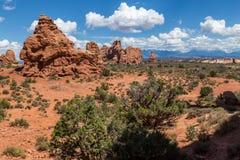 Arches National Park, Utah, USA Stock Photos