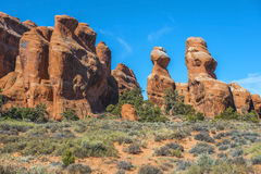 Arches National Park, Utah, USA Stock Images