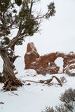 Arches National Park in Utah Royalty Free Stock Image