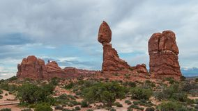 Arches National Park. View of Arches National Park Stock Image