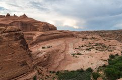Arches National Park. View at the Arches National Park Stock Photo