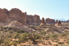The Arches National Park Royalty Free Stock Photos