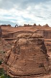 Arches National Park. View at the Arches National Park Stock Photos