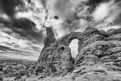 The Arches National Park Stock Image