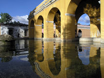 Arches Over Waterway royalty free stock photo