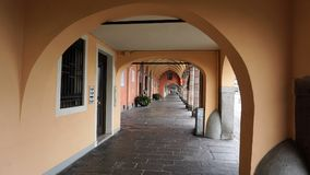 Arches in Padua, Italy. stock photo