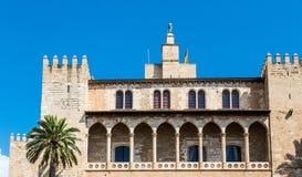 Arches on Palma de Mallorca Church Stock Photos
