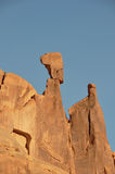 Arches Park; balanced rock; Utah; Usa Stock Photo