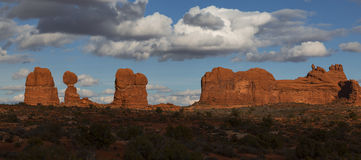 Arches Park Stock Photography