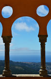 Arches of the Pena National Palace Royalty Free Stock Image