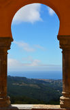 Arches of the Pena National Palace Royalty Free Stock Photos