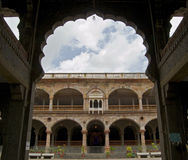 Arches and Pillars of Historic Architecture Indore Stock Image
