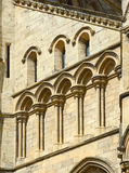 Arches and pillars on York Minster Royalty Free Stock Photo