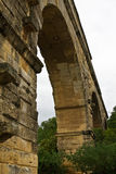 Arches of the Pont du Gard Royalty Free Stock Image