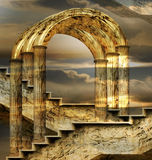 Arches Of Possibility. Italian imagination collage surrealism collection of surreal
