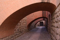 Arches in Potosi Money Museum Royalty Free Stock Photos