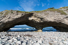The Arches Provincial Park in Newfoundland and Labrador, Canada Royalty Free Stock Images